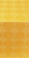 Kolomna silk (rayon brocade) (yellow/gold)