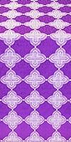 Kolomna metallic brocade (violet/silver)