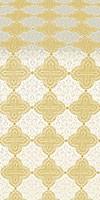 Kolomna metallic brocade (white/gold)