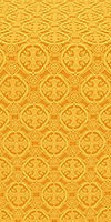 Paschal Egg silk (rayon brocade) (yellow/gold)