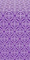 Paschal Egg metallic brocade (violet/silver)