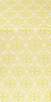 Paschal Egg metallic brocade (white/gold)