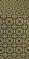 Posad metallic brocade (black/gold)