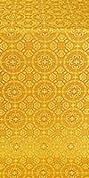 Posad silk (rayon brocade) (yellow/gold)