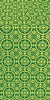 Posad metallic brocade (green/gold)