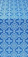 Old-Greek silk (rayon brocade) (blue/silver)