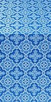 Old-Greek metallic brocade (blue/silver)