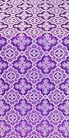 Old-Greek silk (rayon brocade) (violet/silver)