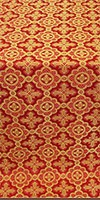 Old-Greek silk (rayon brocade) (red/gold)