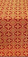 Old-Greek silk (rayon brocade) (red/gold)