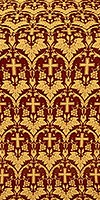 Vinograd metallic brocade (claret/gold)