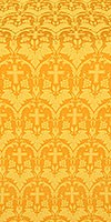 Vinograd silk (rayon brocade) (yellow/gold)