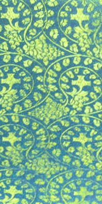 Theophania metallic brocade (blue/gold)