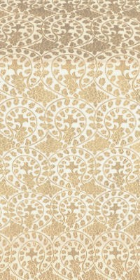 Theophania metallic brocade (white/gold)