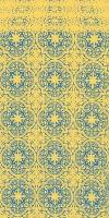 Shouya metallic brocade (blue/gold)