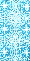 Shouya metallic brocade (blue/silver)