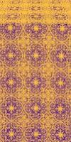 Shouya silk (rayon brocade) (violet/gold)