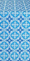 Gouslitsa metallic brocade (blue/silver)