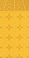 Gouslitsa silk (rayon brocade) (yellow/gold)
