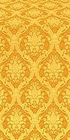Royal Crown metallic brocade (yellow/gold)