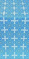 Polotsk metallic brocade (blue/silver)