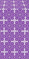 Polotsk silk (rayon brocade) (violet/silver)