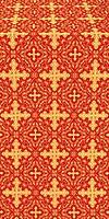 Polotsk metallic brocade (red/gold)