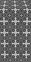 Polotsk metallic brocade (black/silver)