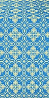 Vasilisa silk (rayon brocade) (blue/gold)