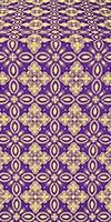 Vasilisa silk (rayon brocade) (violet/gold)
