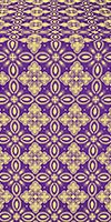 Vasilisa metallic brocade (violet/gold)
