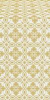 Vasilisa silk (rayon brocade) (white/gold)
