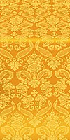 Cassowary metallic brocade (yellow/gold)
