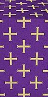 Eufrosinia metallic brocade (violet/gold)