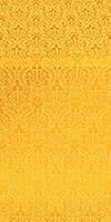 Small Ligouriya metallic brocade (yellow/gold)