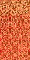 Small Ligouriya metallic brocade (red/gold)