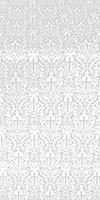 Small Ligouriya metallic brocade (white/silver)
