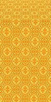 Simbirsk silk (rayon brocade) (yellow/gold)
