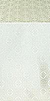 Simbirsk silk (rayon brocade) (white/silver)