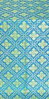 Mirgorod metallic brocade (blue/gold)