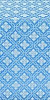Mirgorod silk (rayon brocade) (blue/silver)