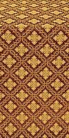Mirgorod metallic brocade (claret/gold)