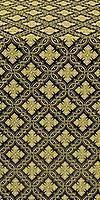 Mirgorod metallic brocade (black/gold)