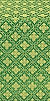 Mirgorod metallic brocade (green/gold)