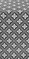 Mirgorod metallic brocade (black/silver)