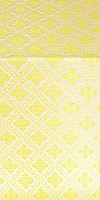 Mirgorod metallic brocade (white/gold)