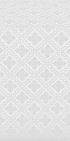 Mirgorod metallic brocade (white/silver)