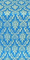 Small Tavriya metallic brocade (blue/gold)
