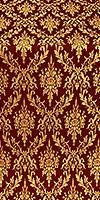 Small Tavriya metallic brocade (claret/gold)