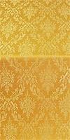 Small Tavriya metallic brocade (yellow/gold)